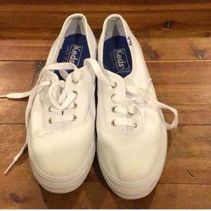 Keds ortholite triple decker shoes